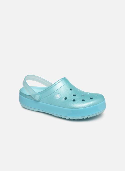 Mules et sabots Crocs Crocband Ice Pop Clog F Bleu vue détail/paire
