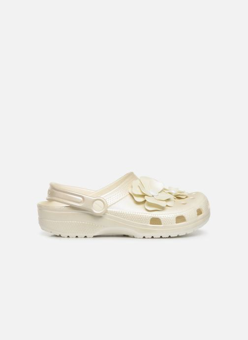 Mules & clogs Crocs Classic Vivid Blooms Clog White back view