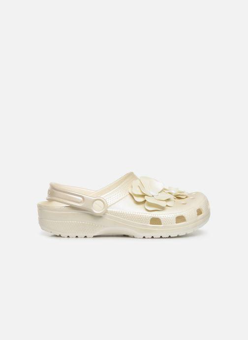 Wedges Crocs Classic Vivid Blooms Clog Wit achterkant