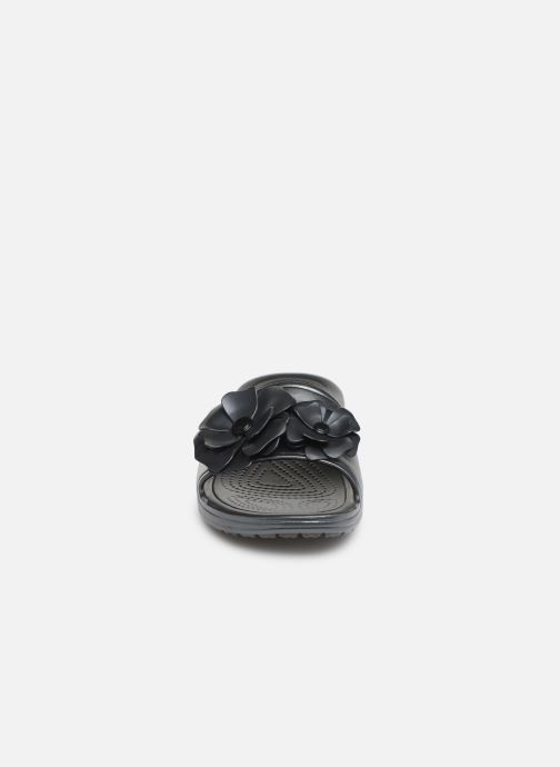 Mules noir Crocs Sloane Vividblooms Chez Sabots Et Slide W qPwXwyRI