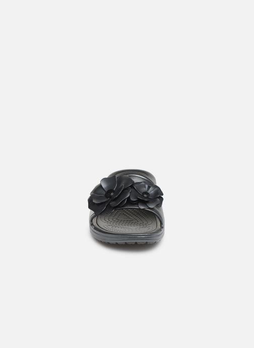 Mules et sabots Crocs Crocs Sloane VividBlooms Slide W Noir vue portées chaussures
