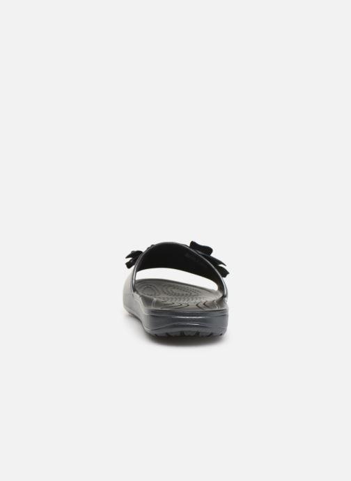 Mules et sabots Crocs Crocs Sloane VividBlooms Slide W Noir vue droite
