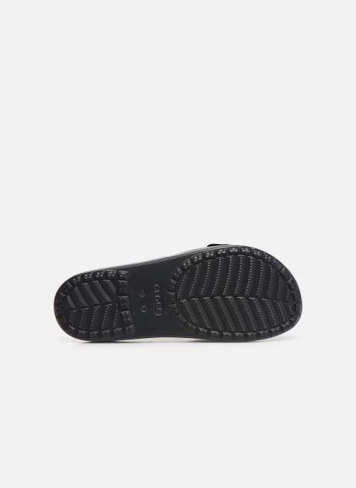 Mules et sabots Crocs Crocs Sloane VividBlooms Slide W Noir vue haut