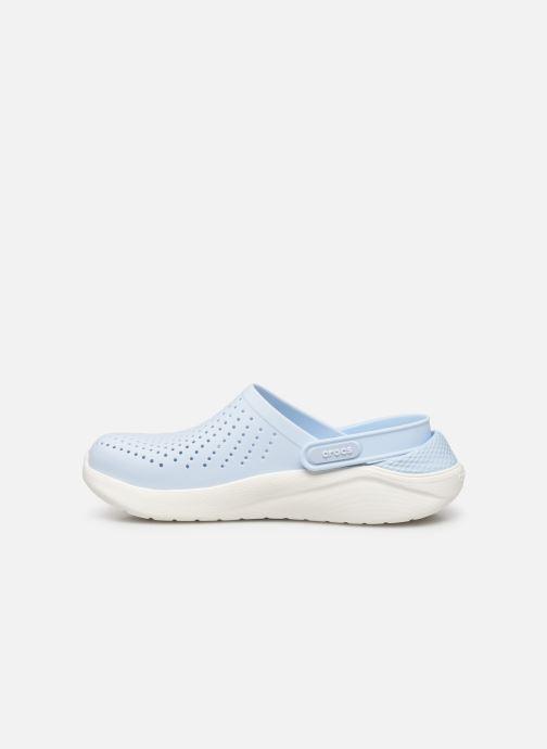 Zuecos Crocs LiteRide Clog F Azul vista de frente
