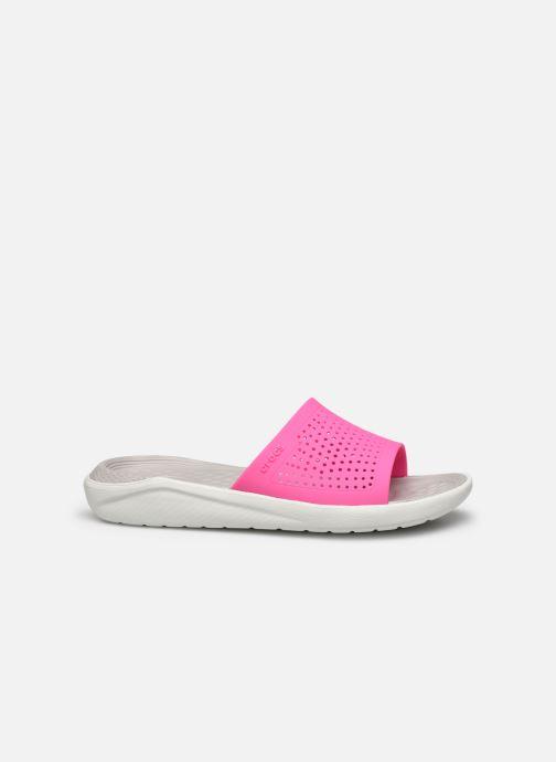 Clogs & Pantoletten Crocs LiteRide Slide F rosa ansicht von hinten