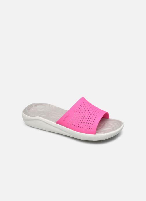Clogs & Pantoletten Crocs LiteRide Slide F rosa detaillierte ansicht/modell
