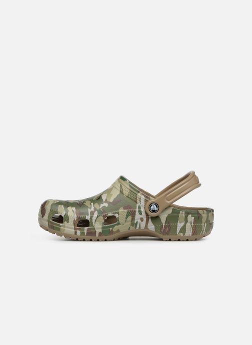 Sandales et nu-pieds Crocs Classic Graphic II Clog M Vert vue face