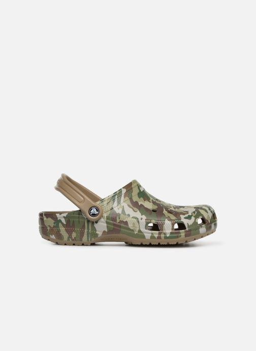 Sandales et nu-pieds Crocs Classic Graphic II Clog M Vert vue derrière