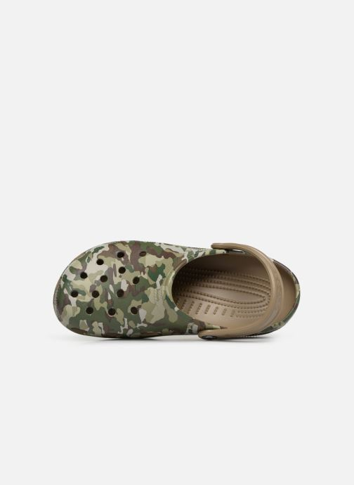 Sandales et nu-pieds Crocs Classic Graphic II Clog M Vert vue gauche