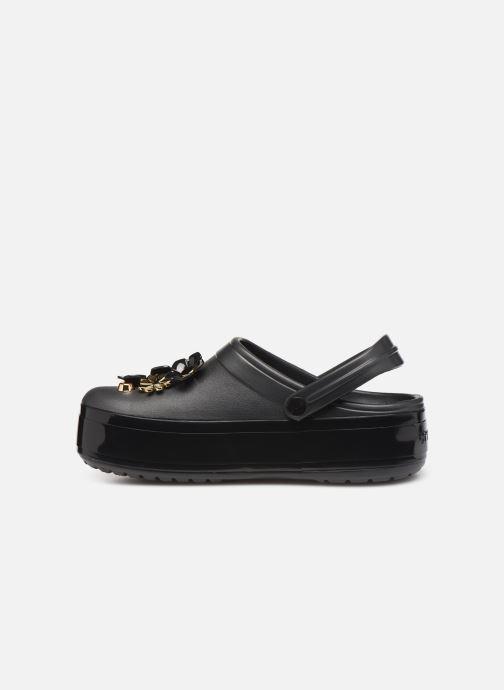 Crocs CB Platform Metallic Blooms Clog (schwarz) - Clogs Clogs Clogs & Pantoletten bei Más cómodo 0aa021