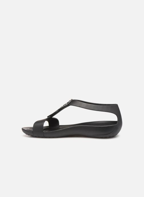 Sandales et nu-pieds Crocs Crocs Serena Embellish Sandal W Noir vue face