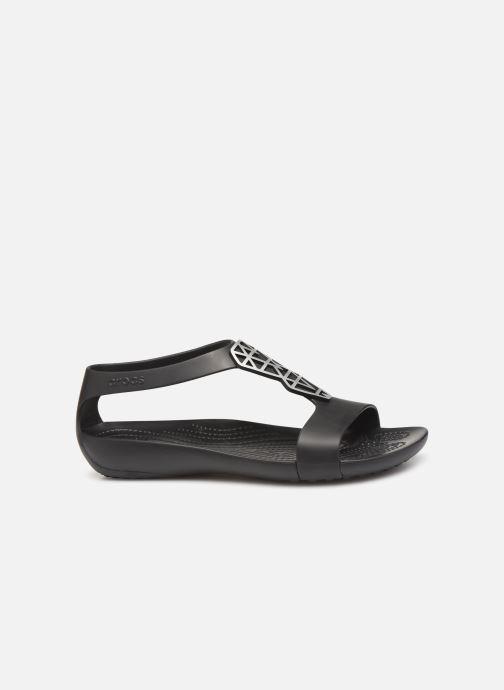Sandales et nu-pieds Crocs Crocs Serena Embellish Sandal W Noir vue derrière