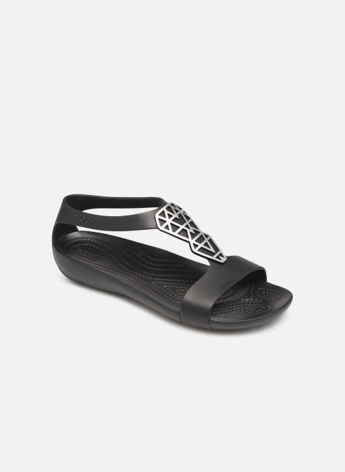 Sandaler Crocs Crocs Serena Embellish Sandal W Svart detaljerad bild på paret