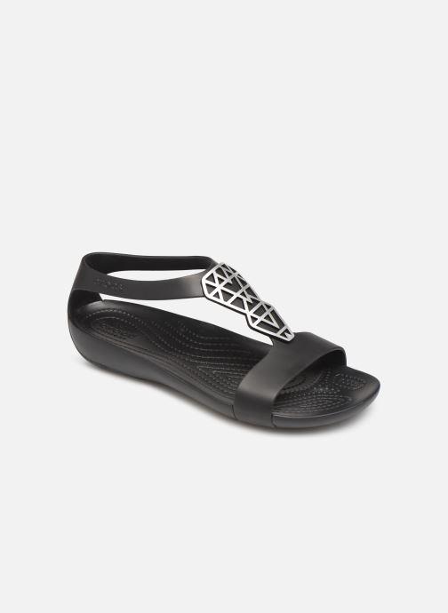 fb783617c16 Sandales et nu-pieds Crocs Crocs Serena Embellish Sandal W Noir vue  détail paire