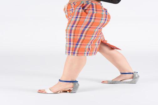 Sandali e scarpe aperte United Nude Bella II Multicolore immagine dal basso