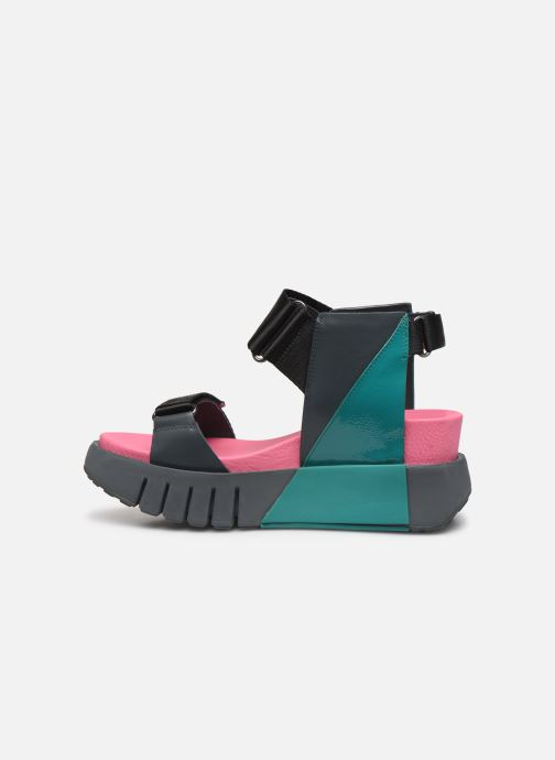Sandalias United Nude Delta Run Multicolor vista de frente
