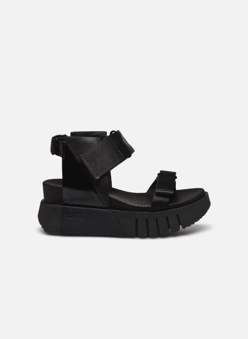 Sandales et nu-pieds United Nude Delta Run Noir vue derrière