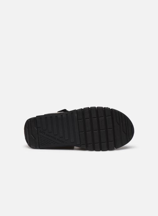 Sandales et nu-pieds United Nude Delta Run Noir vue haut
