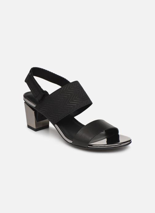 Sandales et nu-pieds United Nude Lev Sandal Mid Noir vue détail/paire