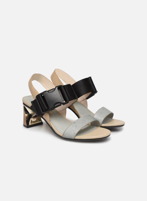 Sandales et nu-pieds United Nude Molten Sandal Mid Multicolore vue 3/4