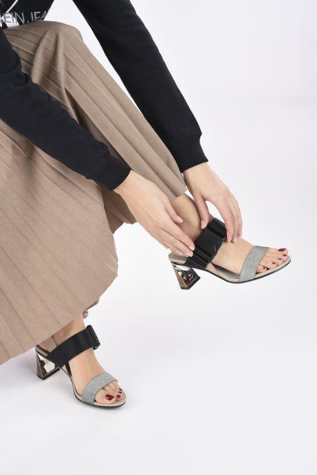 Sandalias United Nude Molten Sandal Mid Multicolor vista de abajo