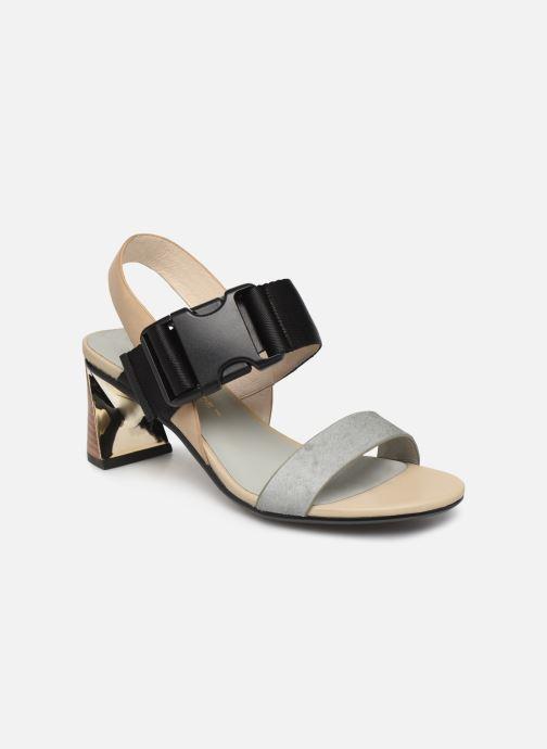 Sandales et nu-pieds United Nude Molten Sandal Mid Multicolore vue détail/paire