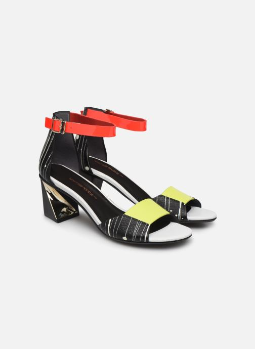 Sandales et nu-pieds United Nude Twist Sandal Noir vue 3/4