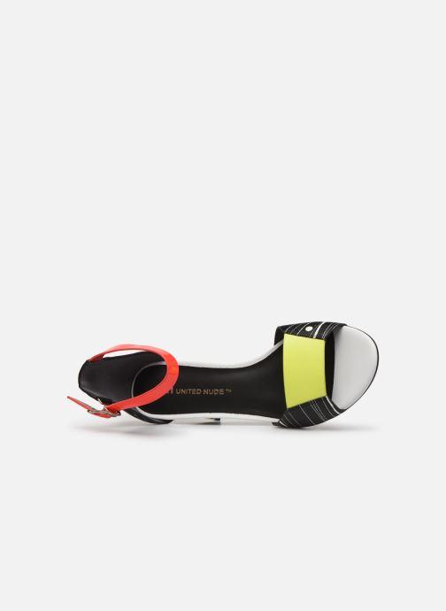 Sandales et nu-pieds United Nude Twist Sandal Noir vue gauche