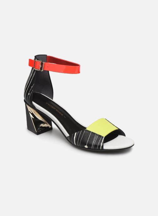 Sandales et nu-pieds United Nude Twist Sandal Noir vue détail/paire