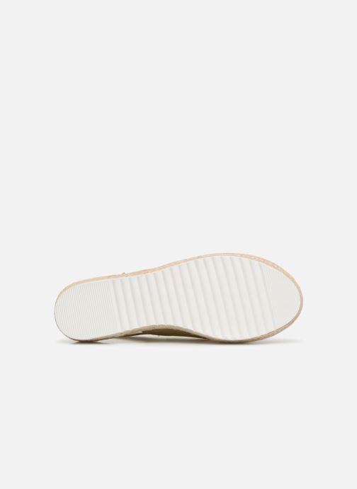 Sandales et nu-pieds COSMOPARIS EKATERINA Or et bronze vue haut