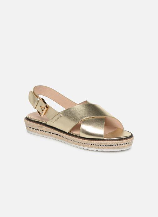 Sandals COSMOPARIS EKATERINA Bronze and Gold detailed view/ Pair view