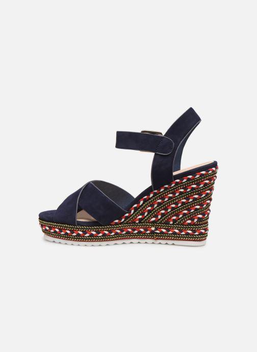 Sandales et nu-pieds COSMOPARIS EKKO Bleu vue face