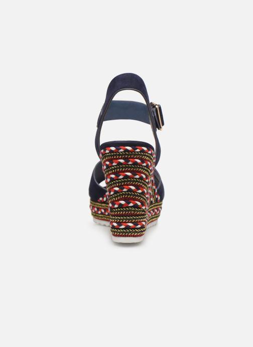 Sandales et nu-pieds COSMOPARIS EKKO Bleu vue droite