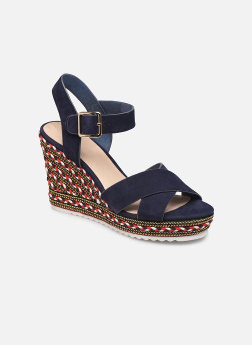 Sandales et nu-pieds COSMOPARIS EKKO Bleu vue détail/paire