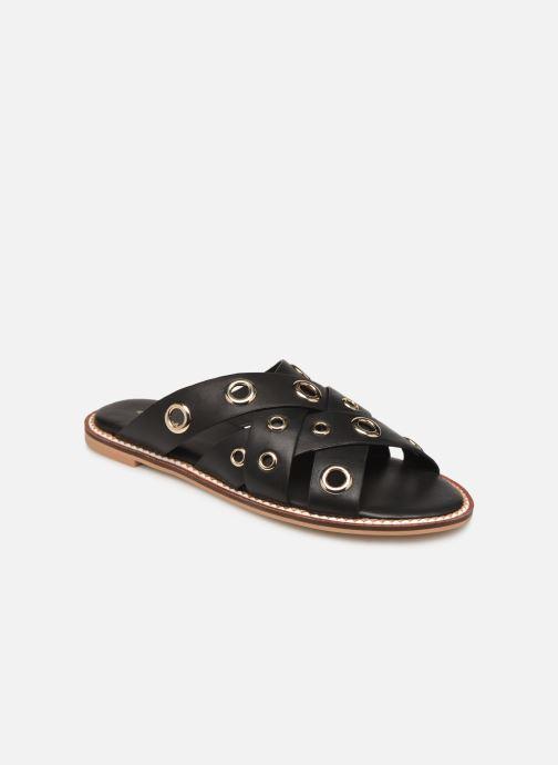 Clogs & Pantoletten COSMOPARIS EMELIA schwarz detaillierte ansicht/modell