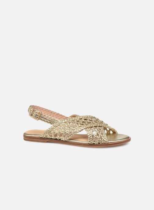 Sandali e scarpe aperte COSMOPARIS HESSI Oro e bronzo immagine posteriore