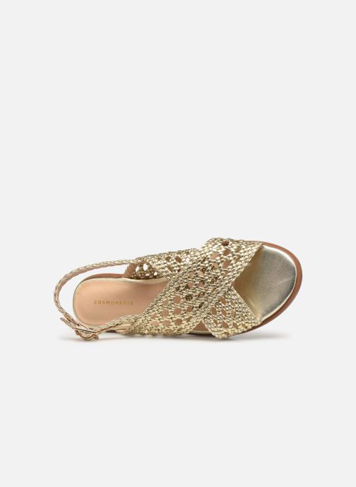 Sandali e scarpe aperte COSMOPARIS HESSI Oro e bronzo immagine sinistra