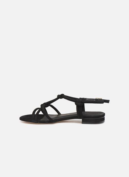 Sandalen COSMOPARIS HILY schwarz ansicht von vorne