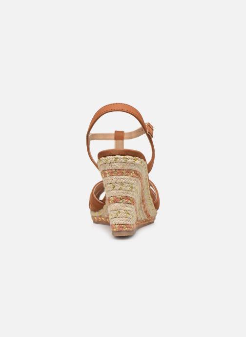Sandali e scarpe aperte COSMOPARIS HIMOYA Marrone immagine destra