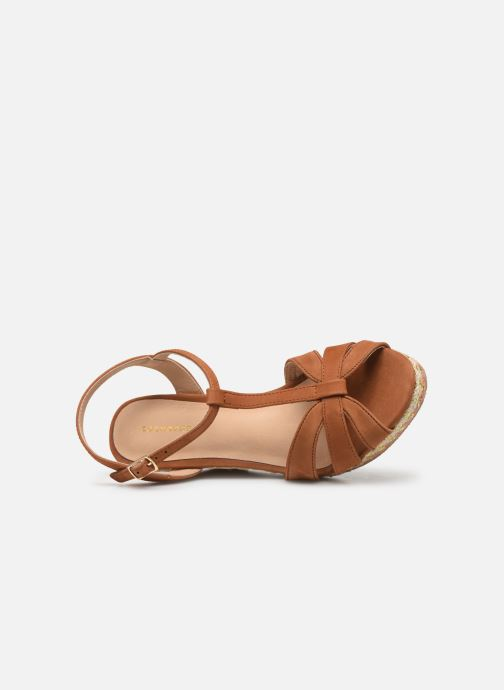 Sandali e scarpe aperte COSMOPARIS HIMOYA Marrone immagine sinistra