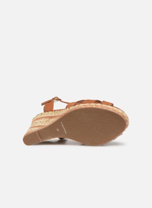 Sandali e scarpe aperte COSMOPARIS HIMOYA Marrone immagine dall'alto