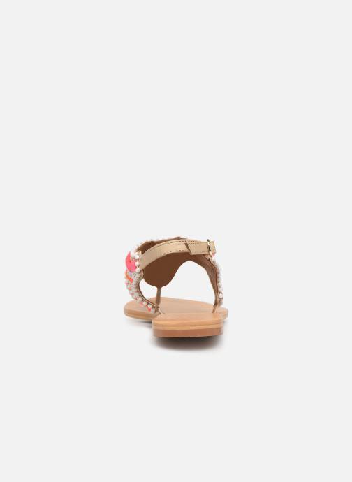 Sandales et nu-pieds COSMOPARIS IJANE Multicolore vue droite