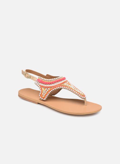 Sandales et nu-pieds COSMOPARIS IJANE Multicolore vue détail/paire