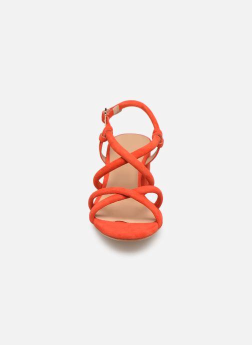 Sandales et nu-pieds COSMOPARIS JADALINA Orange vue portées chaussures