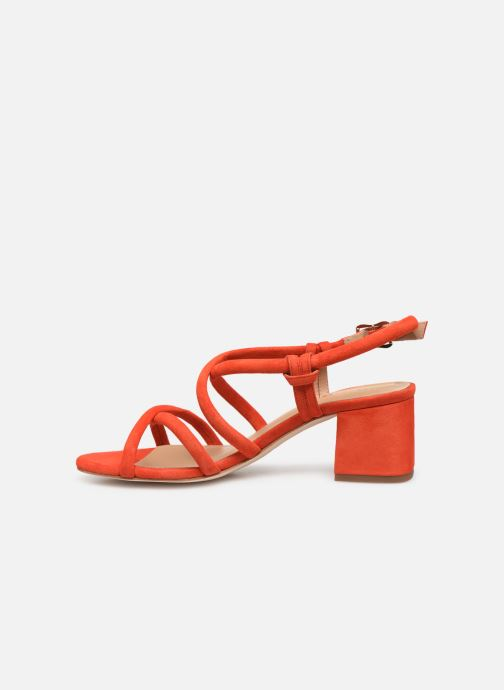 Sandales et nu-pieds COSMOPARIS JADALINA Orange vue face