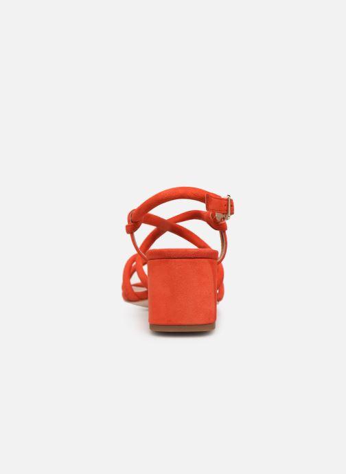 Sandales et nu-pieds COSMOPARIS JADALINA Orange vue droite