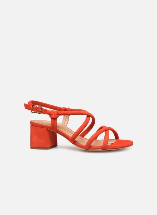 Sandales et nu-pieds COSMOPARIS JADALINA Orange vue derrière