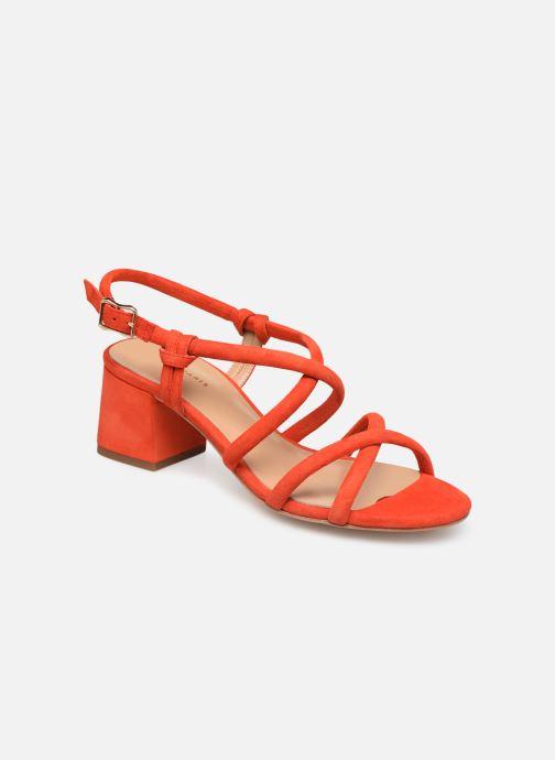 Sandales et nu-pieds COSMOPARIS JADALINA Orange vue détail/paire