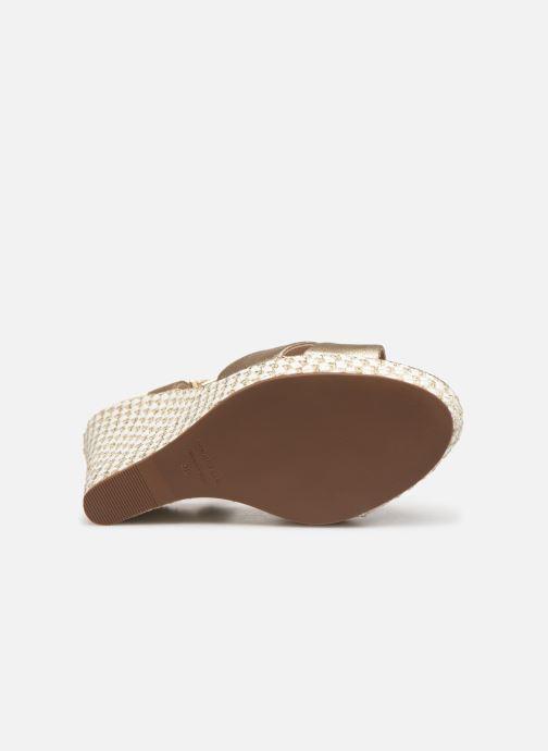 Sandales Chez Cosmoparis or Javi Nu Bronze Et pieds wqIqUA