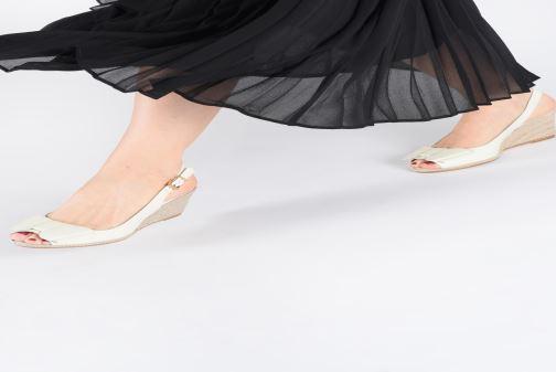 Zapatos de tacón COSMOPARIS LIZIA2 Blanco vista de abajo